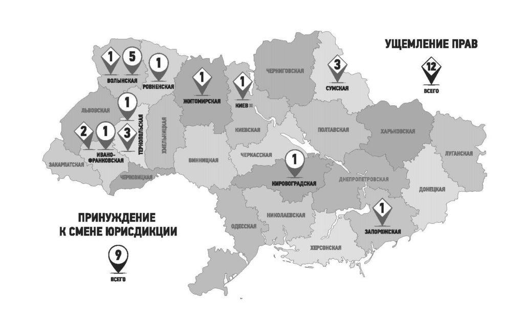 Жертва гражданской войны. Преследования Украинской Православной церкви в ходе конфликта на Украине, 2014 - 2015.